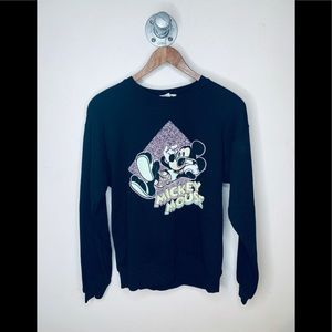 NWT Garage Mickey Mouse black sweater.